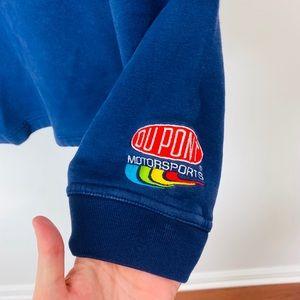 Vintage Sweaters - VTG rare nascar Jeff Gordon pullover size medium